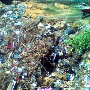 Prohíban tirar basura en bulevarSur
