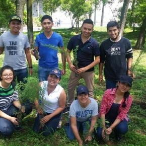 Siembran más de mil árboles enAmatitlán