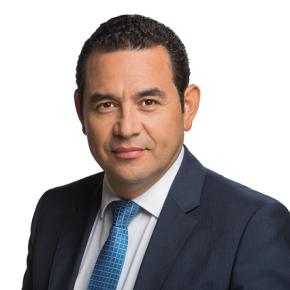 Jimmy Morales, FCN Nación Presidente electo deGuatemala
