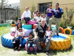 Ciudad de los Niños se suman ya 25 las áreas infantiles que benefician a más de 10,000 niños.