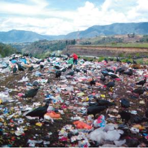 Malos olores en basurero de VillaNueva