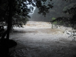 desborde rio en monumento