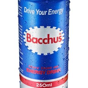 Bacchus, una bebida energéticasaludable