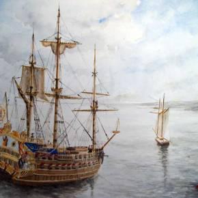 Saqueo de buque San José del sigloXVII