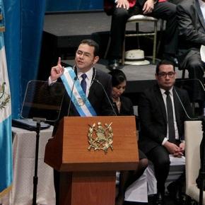 Discurso del Presidente de Guatemala JimmyMorales