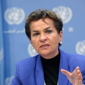 """""""Acuerdo de París enciende la llama de la esperanza""""  Christiana Figueres, Secretaria Convención sobre el CambioClimático"""