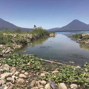Eliminar las aguas negras para salvar el Lago deAtitlán
