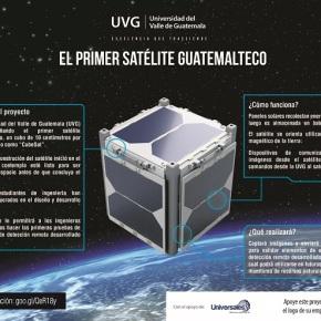 UVG desarrolla el primer satéliteguatemalteco