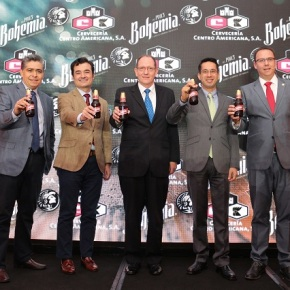 Cerveza Bohemia ahora enGuatemala