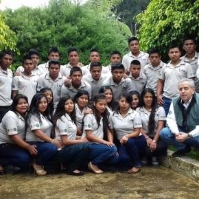 Primera promoción Escuela Rural de NegociosAgroforestales