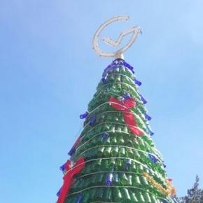 Vidrio da brillo e ilumina la Navidadguatemalteca