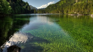 lago-verde-cristalino-wallpaper