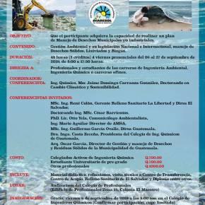 IV Expo- Curso internacional de Manejo de Desechos Sólidos Municipales eIndustriales