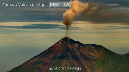 volcanes desgasificacion
