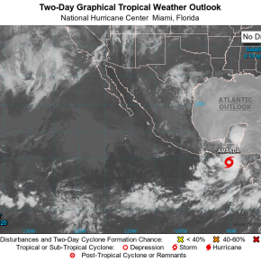 Domingo lluvioso por Tormenta Amanda enGuatemala