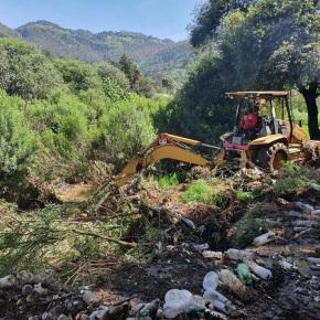Retiran más de 40 toneladas de desechos del ríoXequijel