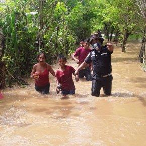 734 incidentes durante la temporada de lluvia2020