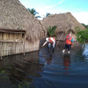 El resultado de las lluvias enGuatemala