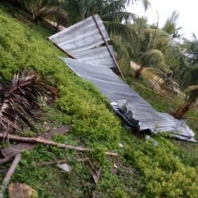 Fuertes vientos afectan varios lugares en elpaís
