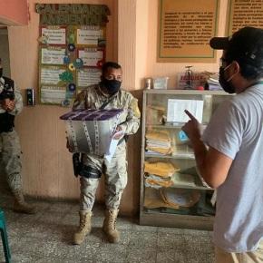 Mazacuata liberada en un áreaprotegida