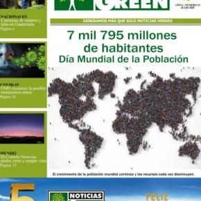 Edición 15 Noticias Green, Día Mundial de laPoblación