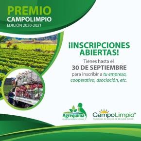 Premio CampoLimpio abre inscripciones para la edición2020-2021