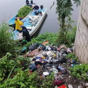 Limpian los alrededores del Lago deAmatitlán