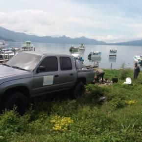Recogen 1.2 toneladas de desechos, en playa del Lago deAtitlán