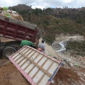Invierno arrastraría más basura al RíoMotagua
