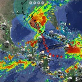 Dos ciclones amenazan con llegar a EstadosUnidos
