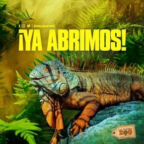El 25 de agosto el Zoo La Aurora abre suspuertas
