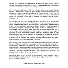 INAB autoriza aprovechamiento forestal en zona16