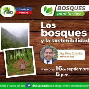 """Charla """"Los bosques y la sostenibilidad"""""""