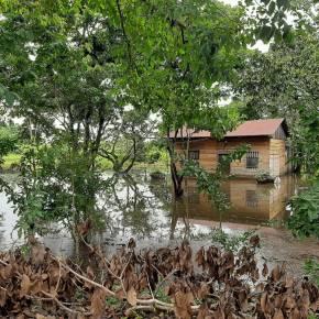 Desborde de ríos porlluvias