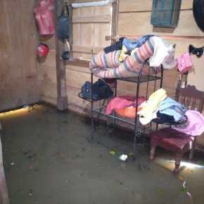 Inundaciones en Petén