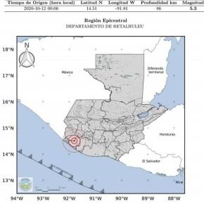 El INSIVUMEH registra 25 sismos en 24 horas, 3sensibles