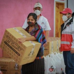 Guatemaltecos, ¡al rescate!, de Fundación Castillo Córdova, llegó aSololá