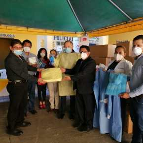 Hospital de Amatitlán recibe donación deequipo