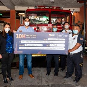 Ternium entrega donativo a BomberosVoluntarios