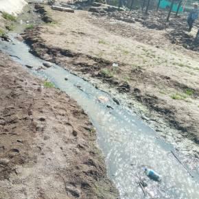 Aguas residuales contaminan el RíoJupilingo