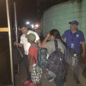 OIM despliega asistencia humanitaria porcaravana