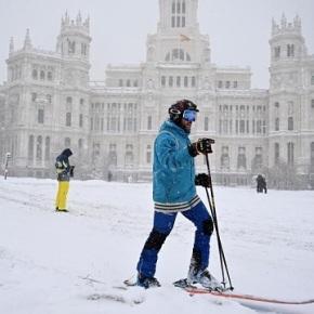 España con ola de fríolarga