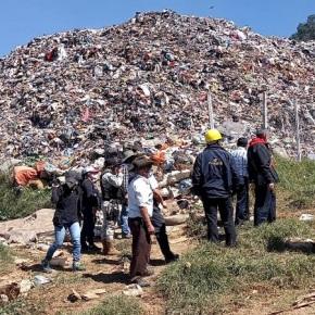 MARN verifica denuncias por mal manejo de residuos enAlmolonga