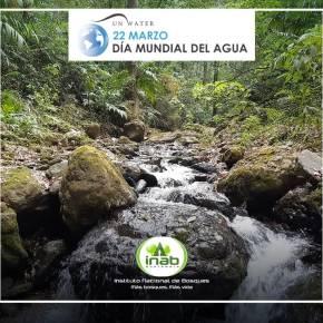 INAB se une a la conmemoración del Día Mundial delAgua