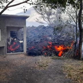 Flujo de lava del Volcán de Pacaya sigueavanzando