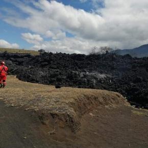 Las imágenes del río de lava del Volcán dePacaya