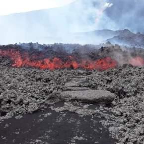 Nueva fisura en el Volcán dePacaya