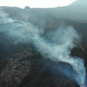 Flujo de lava del Volcán de Pacayaavanza