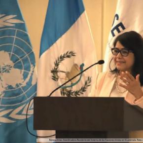 En 2020 Naciones Unidas aportó a Guatemala US$105.7 millones enproyectos