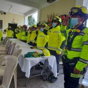 Entregan equipo a patrulla de rescate nacional de la regiónOccidente